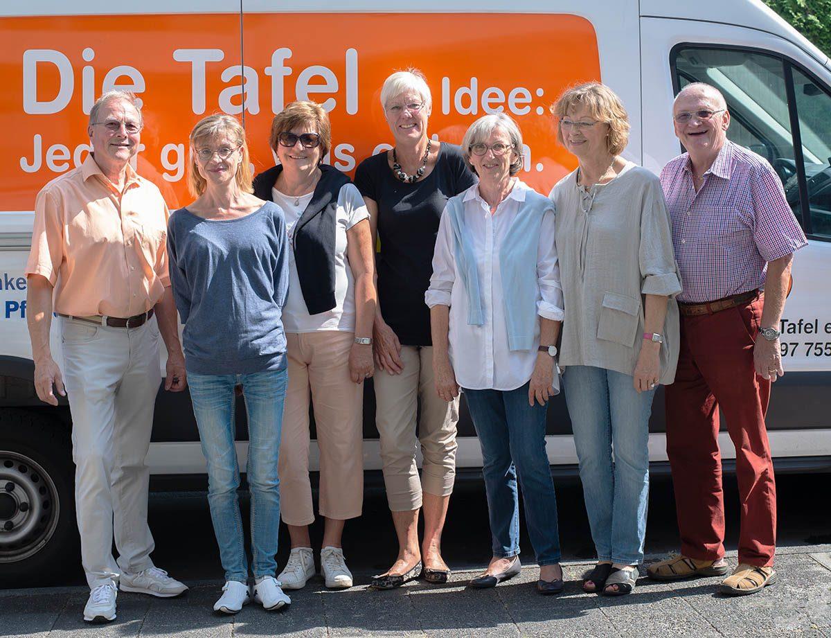 Langener Tafel e.V. aktueller Vorstand Wahl August 2018