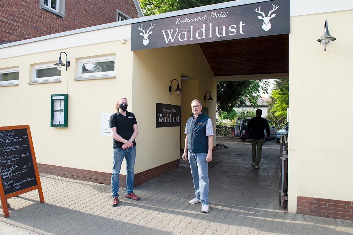 Langener Tafel Restaurant Matis Waldlust Erzhausen Corona Hilfe Local Hero