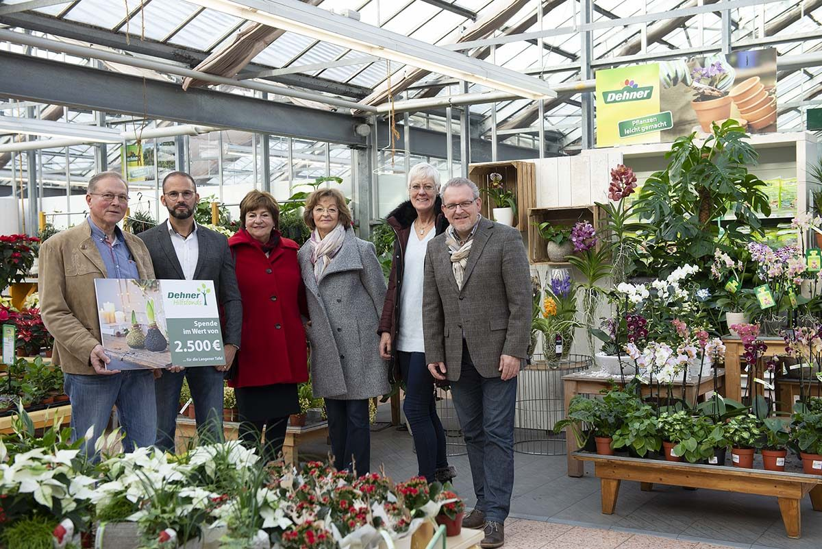 Langener Tafel Dehner Gartencenter Dietzenbach Spendenaktion 2018
