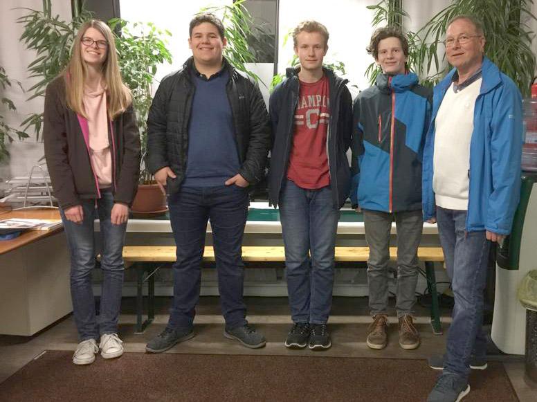 Langener Tafel Firmlinge St. Josef Gemeinde Egelsbach zu Besuch