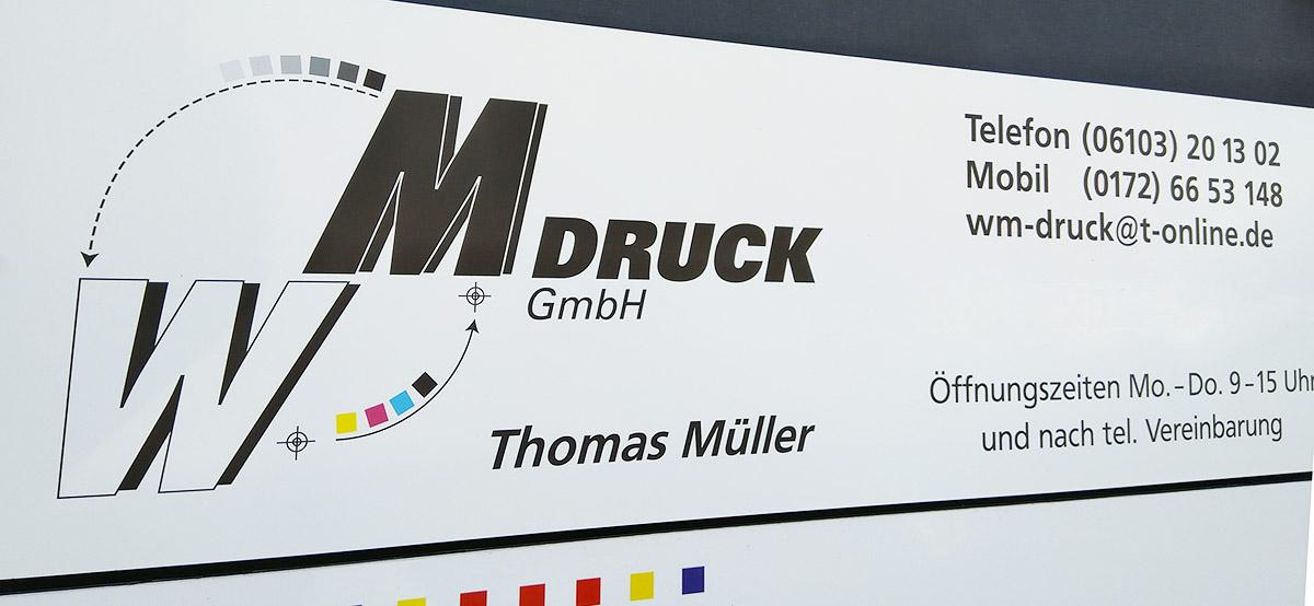 Langener Tafel WM Druck Langen Dreieich Thomas Müller Drucksachen Print Briefpapier